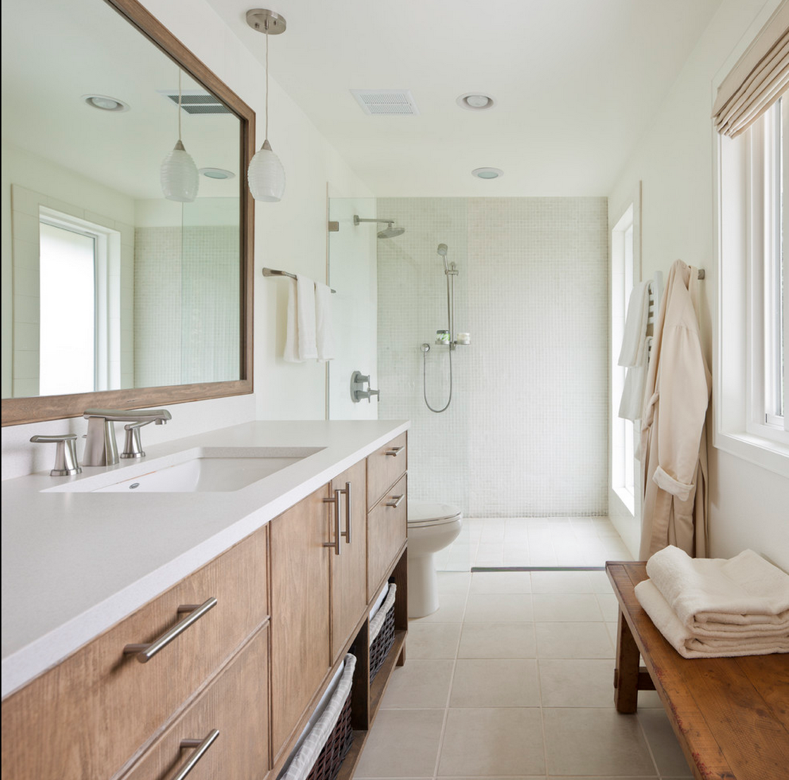 Bathrooms Contemporary Wightman Construction Inc